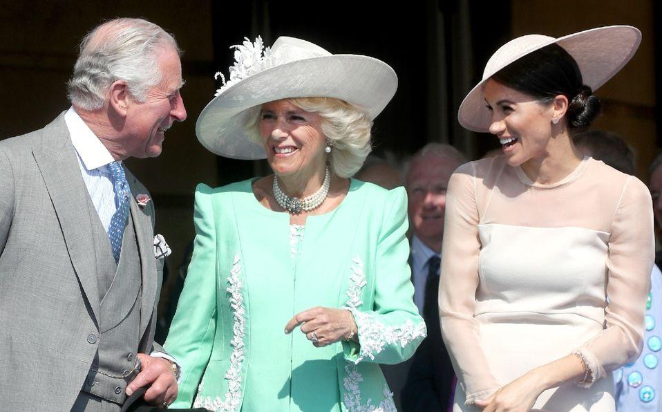 Familia real responde a la entrevista de Meghan Markle y Harry (Foto: Getty Images)
