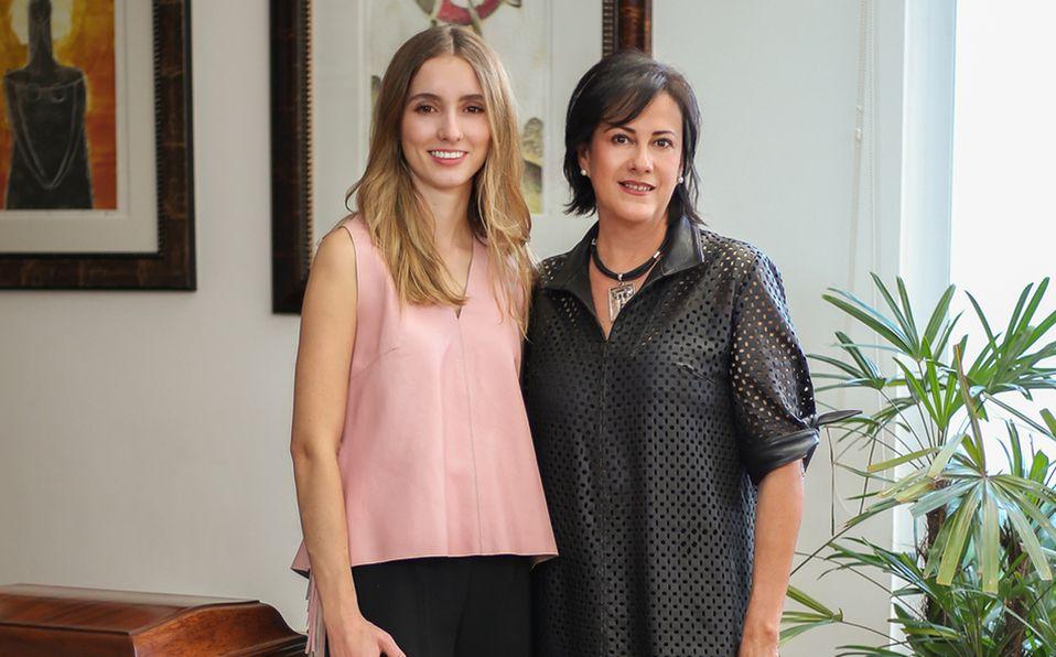 Paulina Pereda y Verónica Vertiz entraron en la industria de la moda para innovar con su propuesta. Foto: Aarón Solís