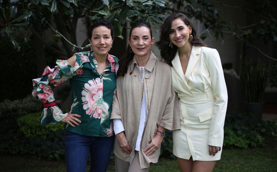 Las tres comparten su testimonio para brindar apoyo a más mujeres que pasen por lo mismo. Foto: Aarón Solís