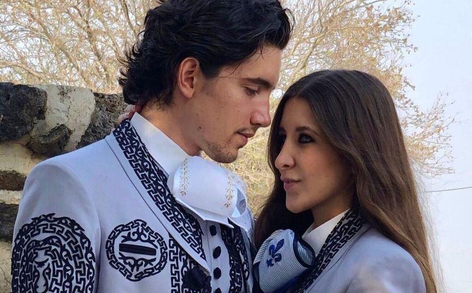 Así fue el vestido de novia de Alexia en su boda con Alex Fernández (Foto: Instagram)