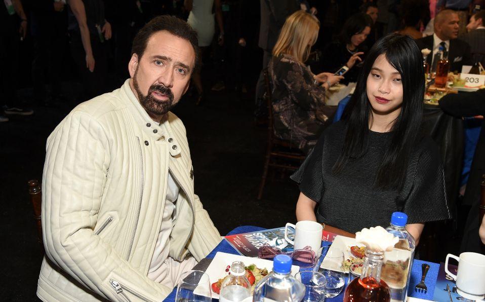 La Quinta Es La Vencida Ella Es La Nueva Esposa De Nicolas Cage