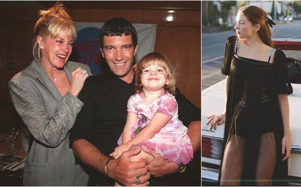 Stella del Carmen, la única hija de Antonio Banderas, debuta como modelo (Foto: Instagram)