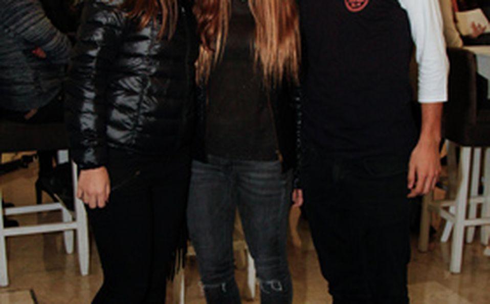 Isis Calvo, Lalis Alcaraz y Martha Padilla
