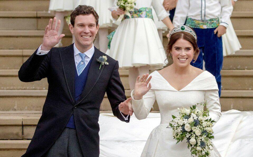 Princesa Eugenia confirma su embarazo con Jack Brookshank (Foto: Reuters)