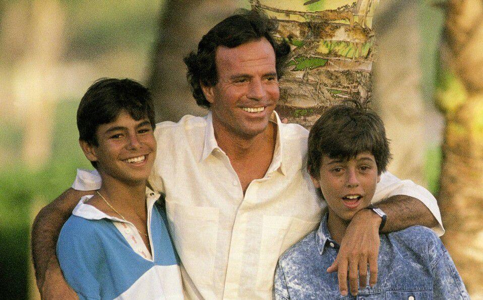Ellos son los hijos de Julio Iglesias (Foto: Instagram)