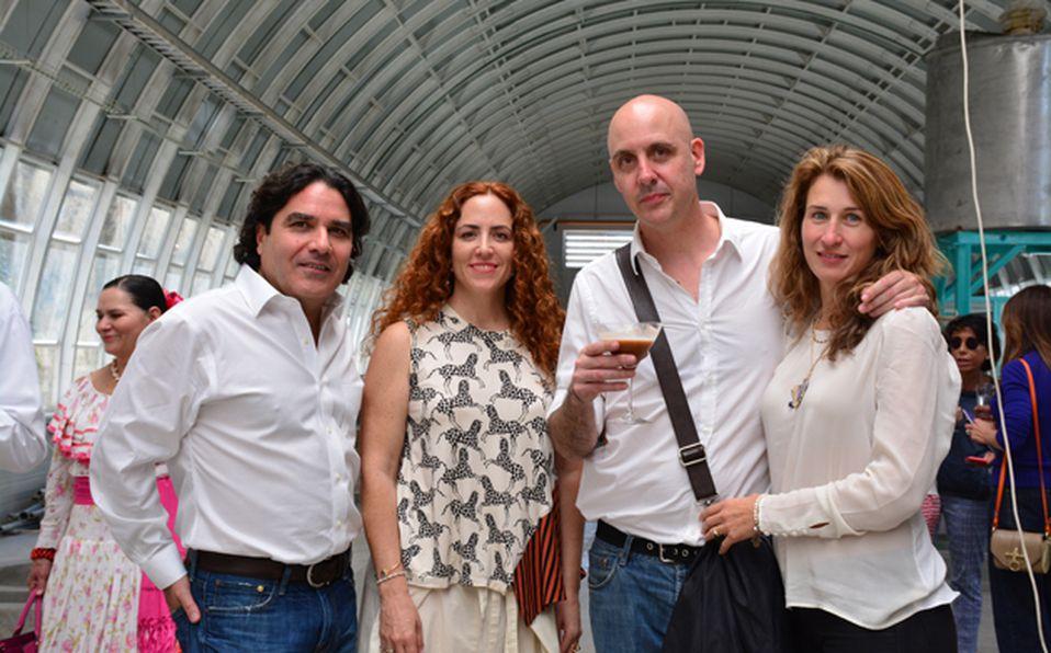 Juan Jorge Favier, Christian Moueix y Jose Noé Suro