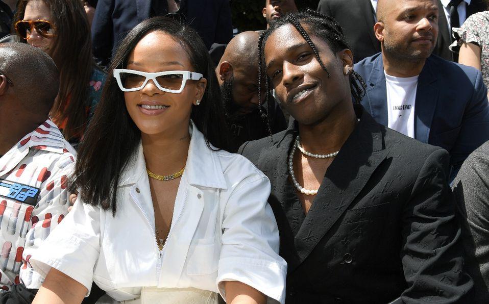 A$SAP Rocky confirma su romance con Rihanna (Foto: Getty Images)