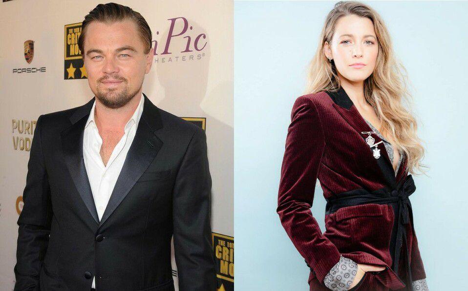 Blake Lively y Leonardo DiCaprio: el romance fugaz.