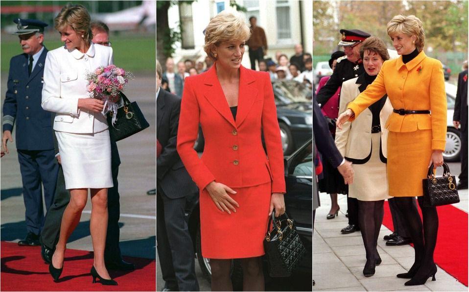 Lady Dior: El bolso que Dior nombró en honor a la Princesa Diana (Foto: Getty Images)
