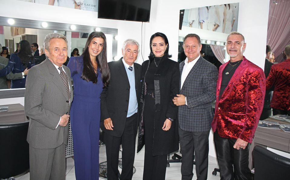 Claude Joanin, Patricia Abreu, Joss Ifergan, Erika Molina, Pepe Saade y Sylvain Parachou