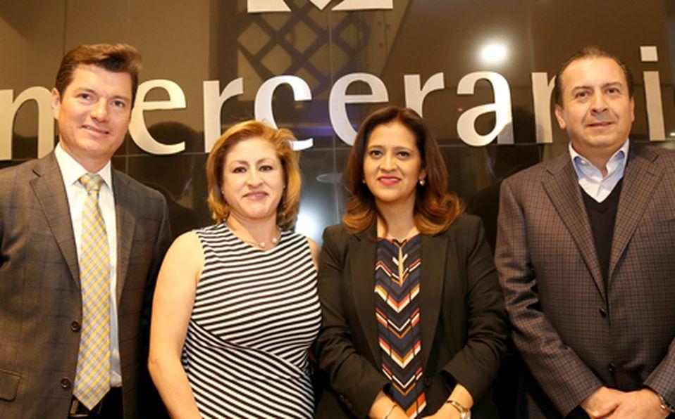 Juan Manuel Barrera, Martha Morales, Fabiola Sierra  y Miguel Robledo
