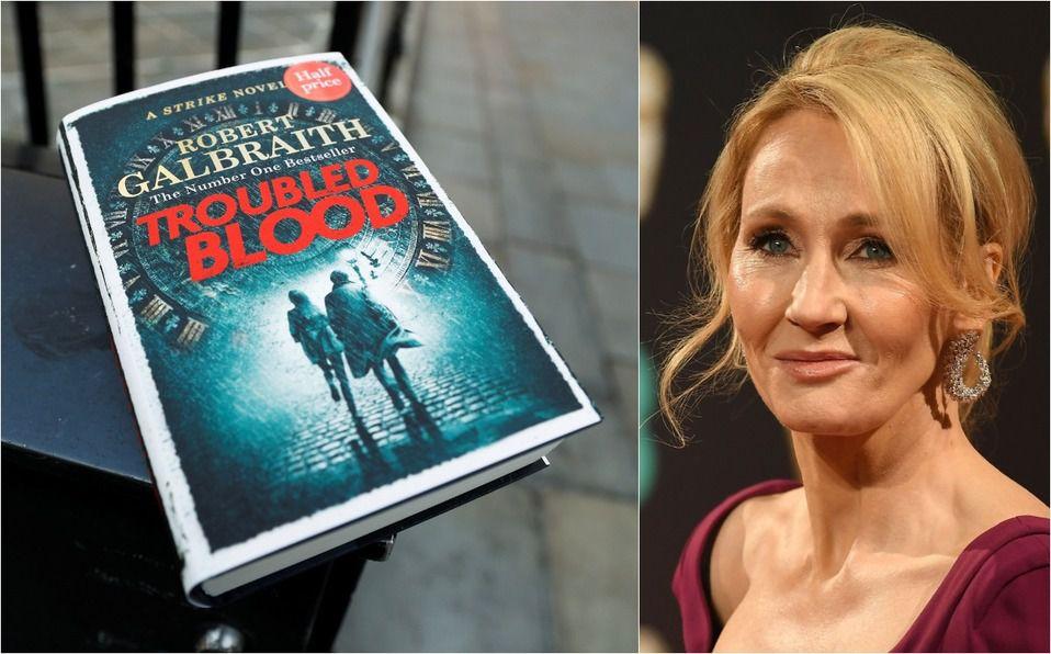 J.K. Rowling publica nuevo libro,