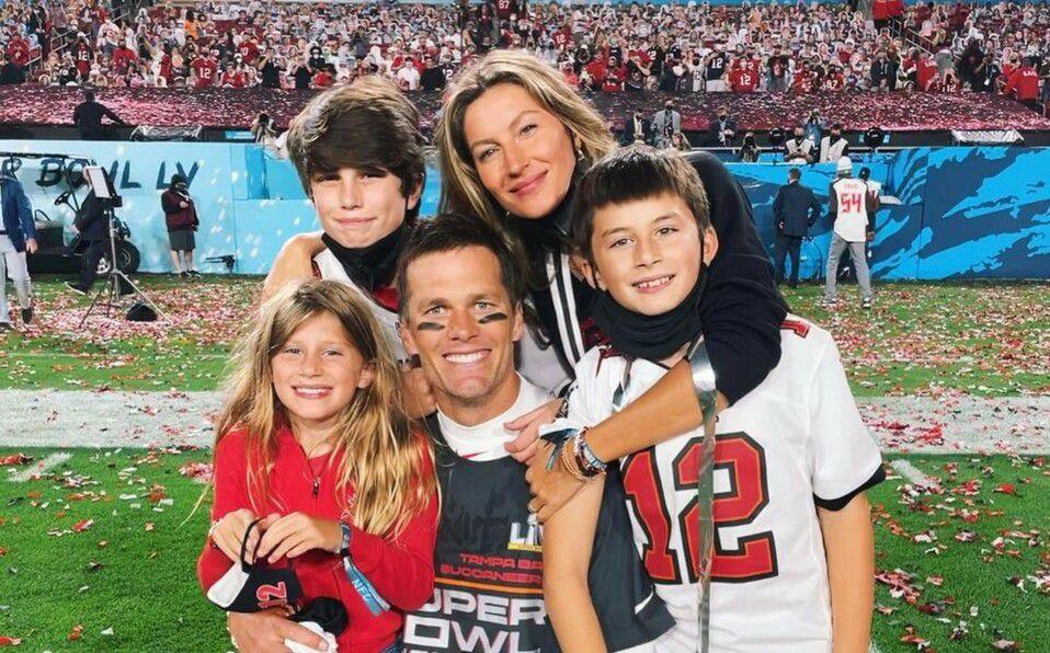 Quiénes son los hijos de Tom Brady: Fotos (Foto: Instagram)