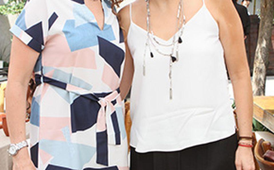Vicky Aguilar y María Elena Aguilar