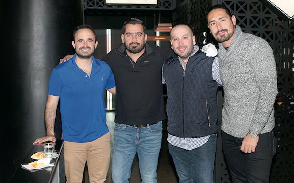 Adrián Roel, Adrián Leal y Jesús Vargas