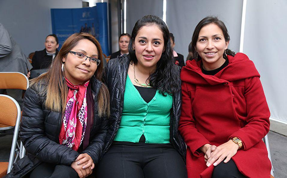 () ROCÍO GARCÍA, JOSÉ NUÑEZ Y CARLOS NUÑEZ