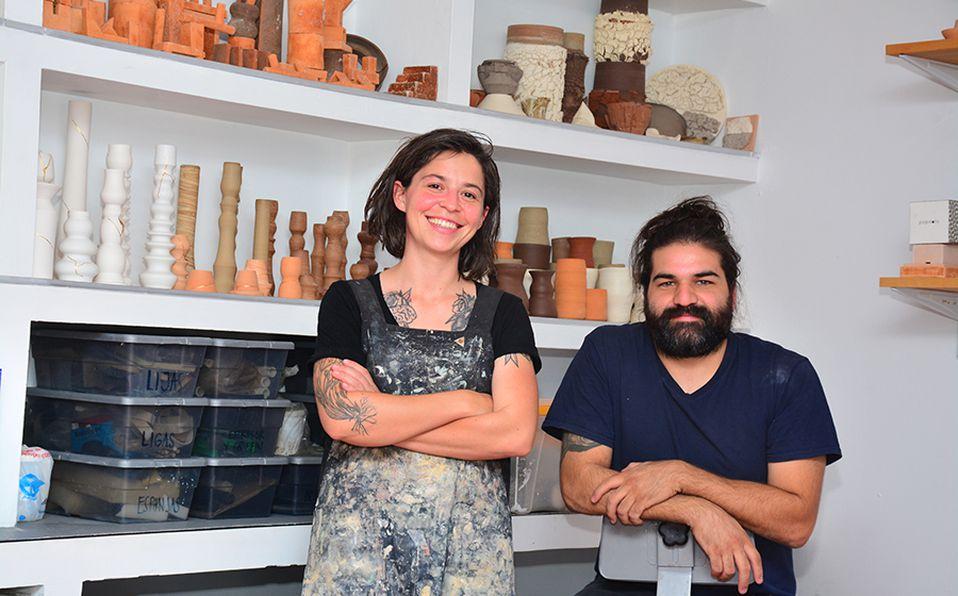 Melissa Aldrete y Luis Cárdenas de Popdots. FOTO / Marifer Rached