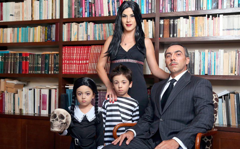 Lorena, Ana Valeria, Federico y Federico son apasionados de celebrar Halloween en grande (Foto: Jaime Jiménez)