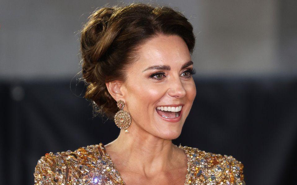 Kate Middleton se roba la alfombra roja de la primere de No time to die (Foto: Getty Images)