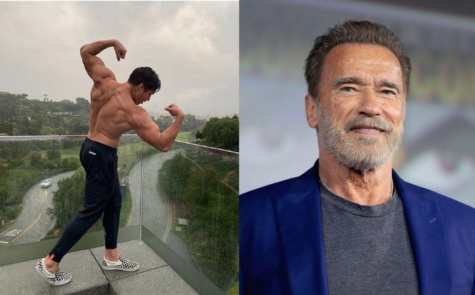 Él es Joseph Baena, el hijo ilegítimo de Arnold Schwarzenegger