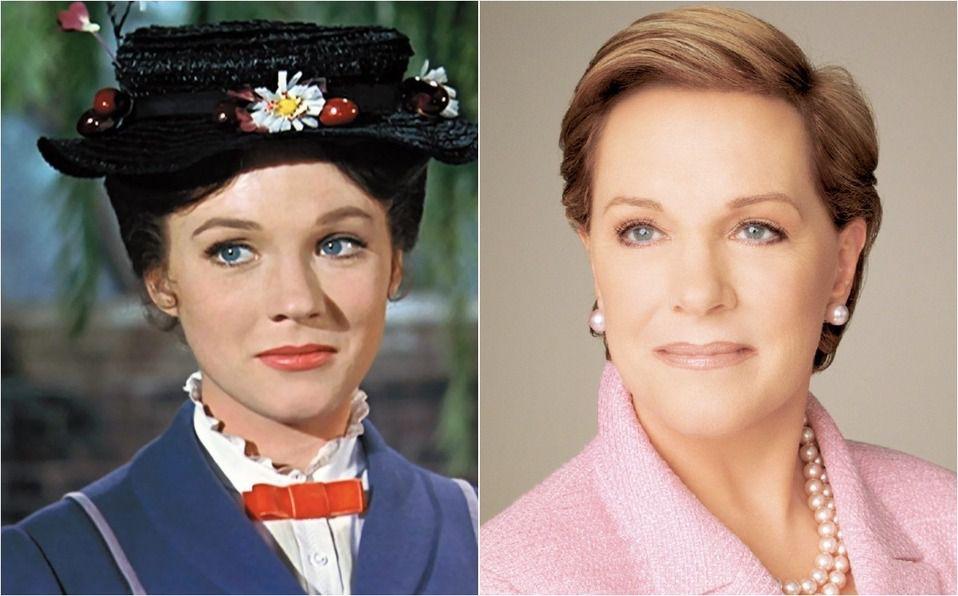 Julie Andrews cumple 85 años: El antes y después de Mary Poppins (Foto: Instagram)