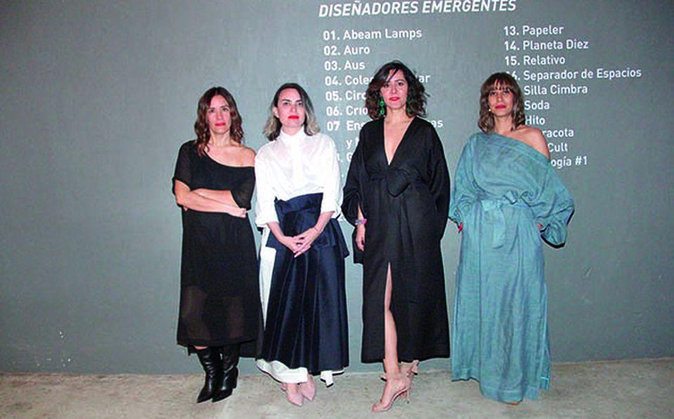 Ana Paula Orozco, Karla Vázquez, Kenya Rodríguez y Virginia Jáuregui