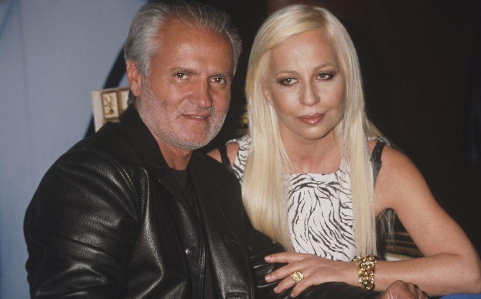 Gianni y Donatella Versace: Una hermandad rival y trágica (Foto: Getty Images)