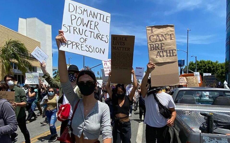 Celebridades que salieron a la calle para protestar por #BlackLivesMatter/Foto: Instagram @emrata