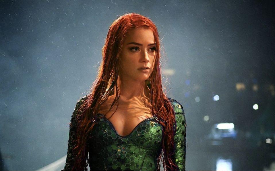 Amber Heard queda fuera de Aquaman 2 y podría ser reemplazada por Emilia Clarke (Foto: Warner Bros)