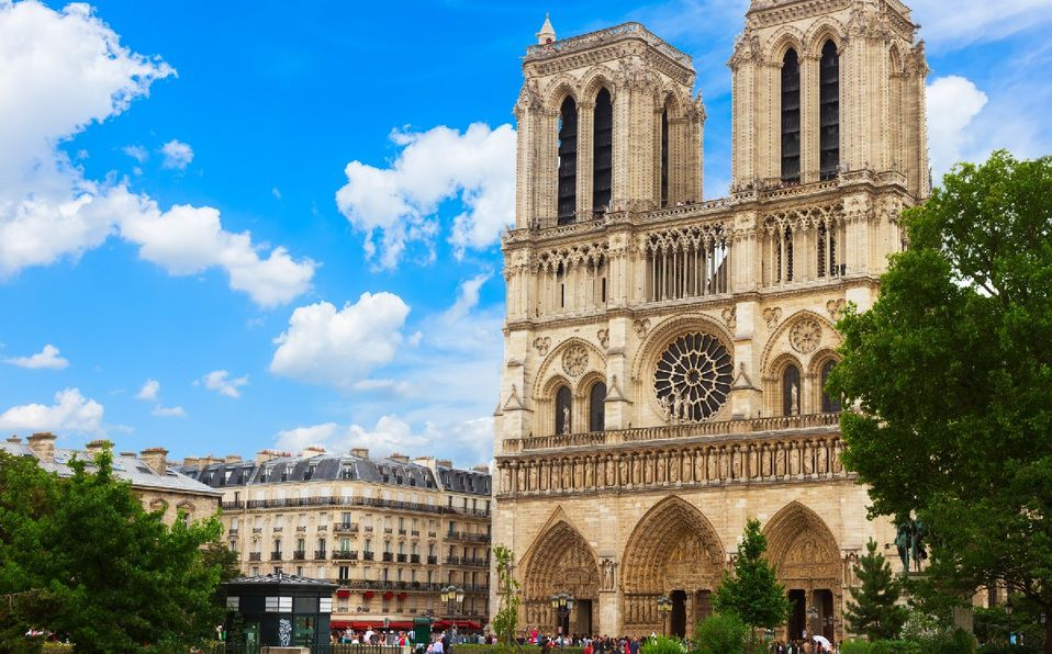 Notre Dame, una joya de la arquitectura gótica. (Imagen: Shuttertock).