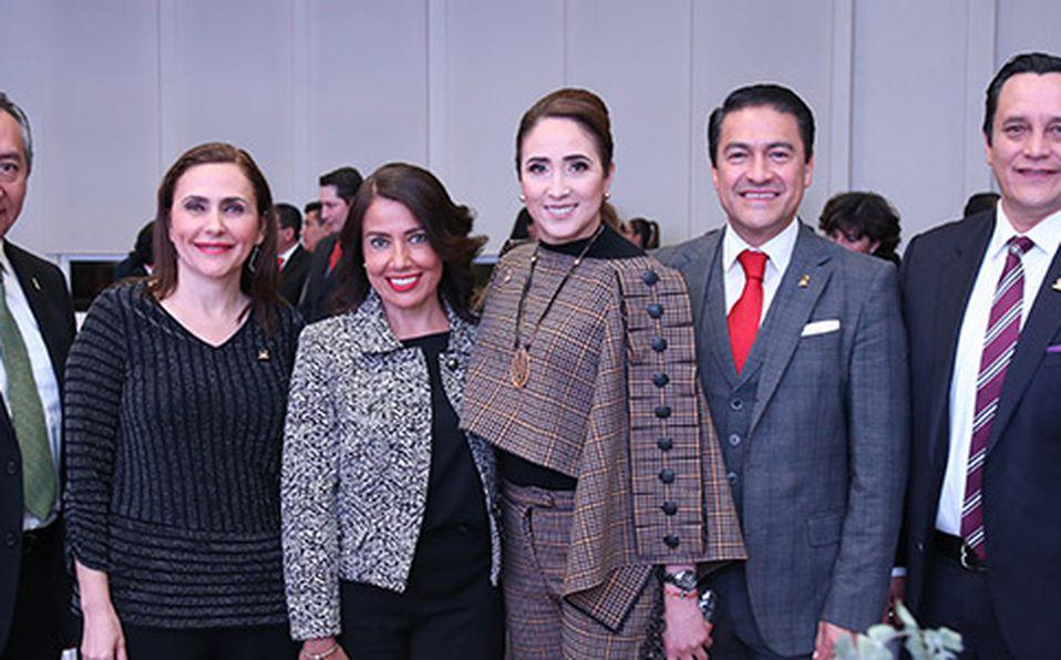 () UBALDO DÍAZ,DIAMANTINA PERALES, LAURA GRAJEDA, MARIA CID DEL PRADO, MARCO VÁZQUEZ Y LEOPOLDO NUÑEZ