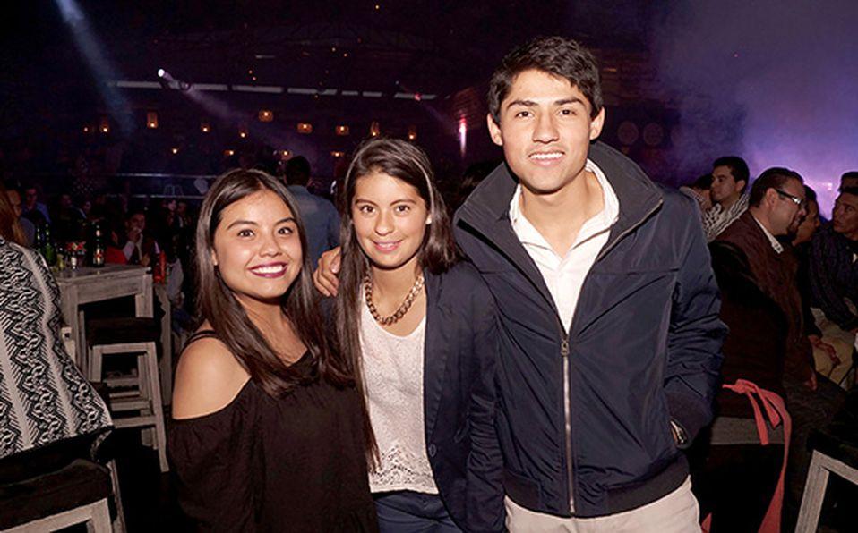 (principal) Fernanda Barroeta, Fernanda Ledesma y Daniela Barbosa