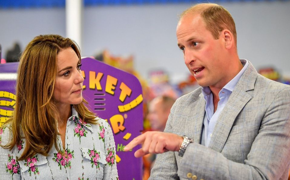 Kate Middleton es confundida con la asistente del Príncipe William