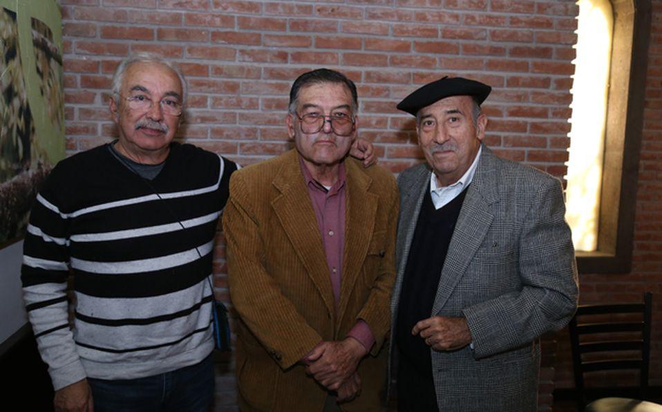 IMG_9839 Clemente, Jaime, Luis Felipe, Hugo