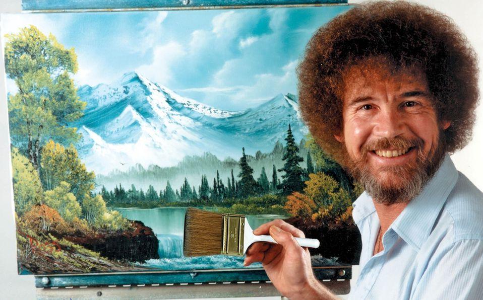 Bob Ross: De militar a pintor de árboles felices (Foto: Instagram)