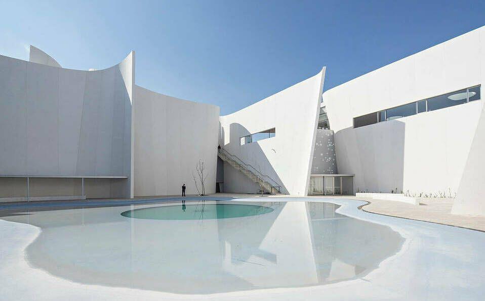 El MIB fue construido por Toyo Ito, arquitecto japonés ganador del premio Pritzker
