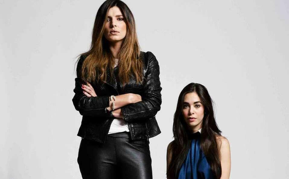 Sara Galindo y María José Hernández