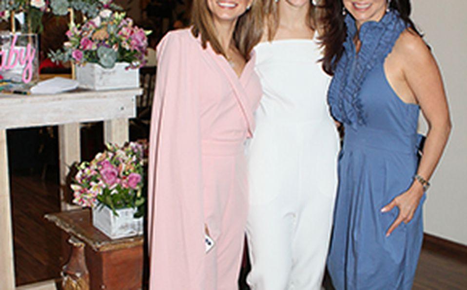 María José Fuente, Carolina González y Miroslava Mata