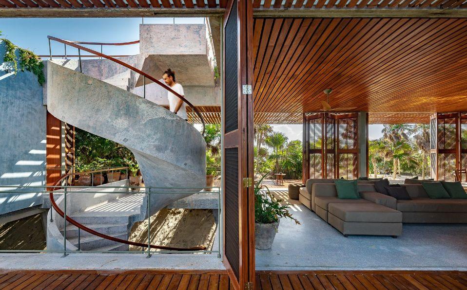 Casa Bautista: el nuevo proyecto de Productora en la Riviera Maya