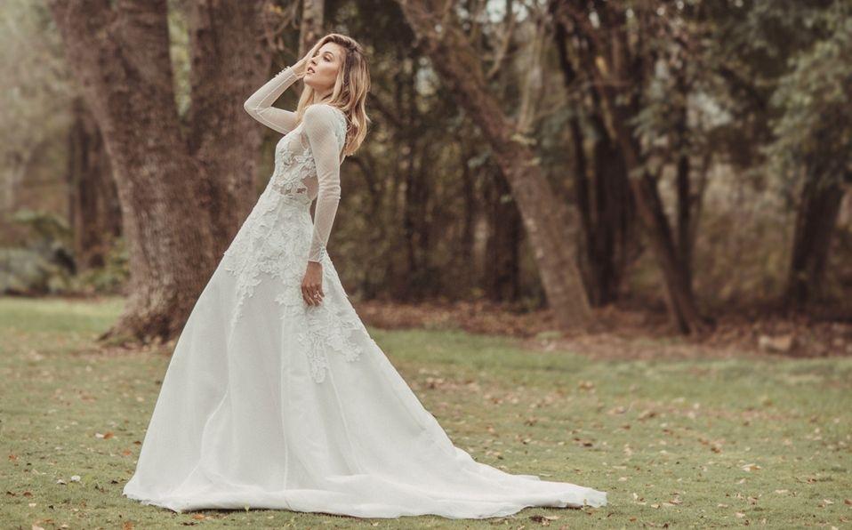 Mariana Rodríguez, recordando sus días de novia