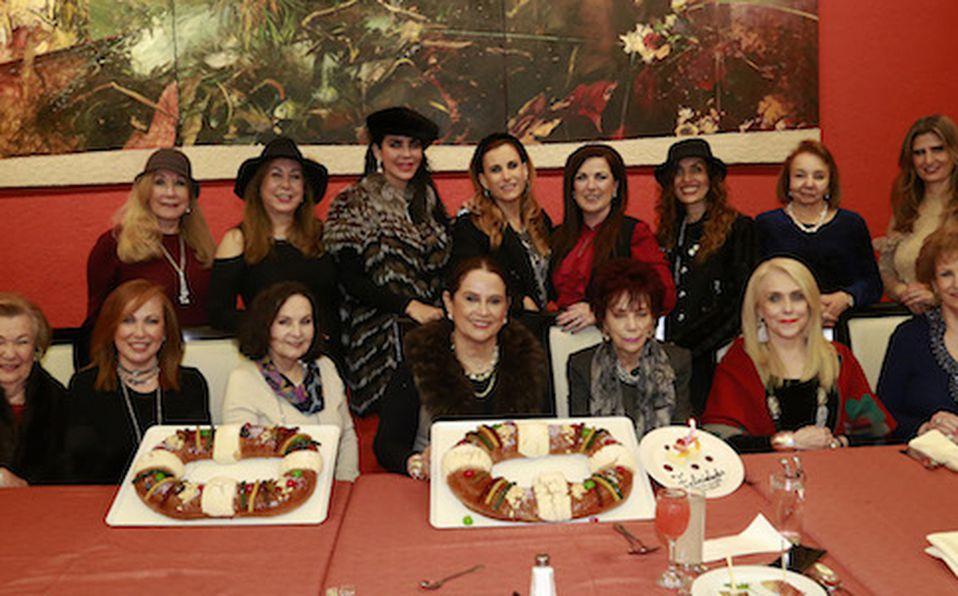 Yolanda De la Garza, Nancy Montemayor, Marha Martínez de Ruiz, Graciela Tancredi de Flores, Marlene Dávila de Rodríguez Olga Mejía, Esperanza Tijerina