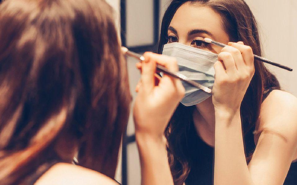 Maquillaje  bajo  la nueva normalidad