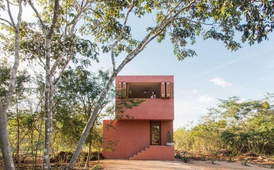 Casa Monte en Yucatán le dio la vuelta al mundo por con su concepto de Tiny house