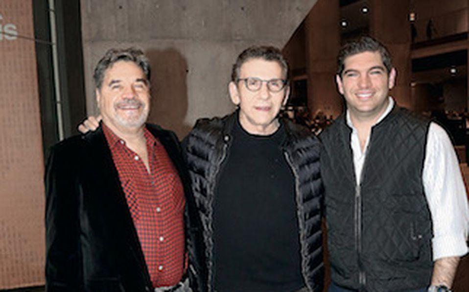 Mauricio Misrachi, Salomón Marcuschamer y David Karren
