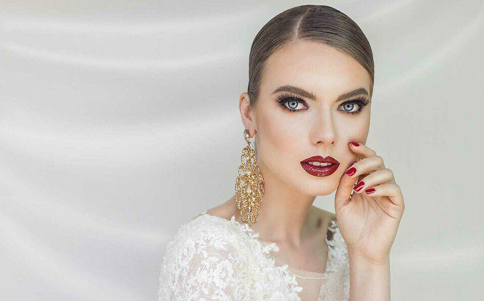 Ekaterina Nikandrova representa a las novias sutiles, elegantes y seguras