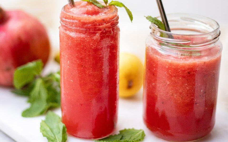 Esta deliciosa bebida, es ideal para hidratarnos ante las altas temperaturas que se registran en la ciudad.