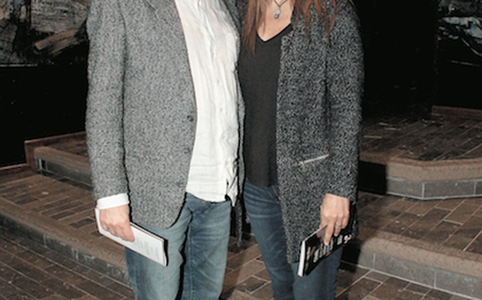 Emma Molina, Yolanda Santos de Hoyos y Jorge Vázquez