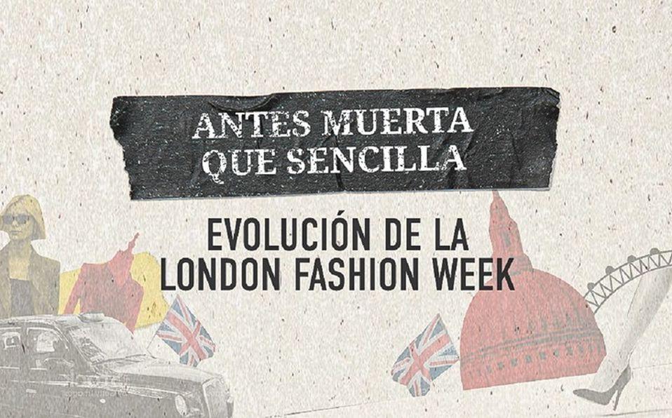 Son pocos los latinoamericanos que tienen acceso a London Fashion Week. (Especial)