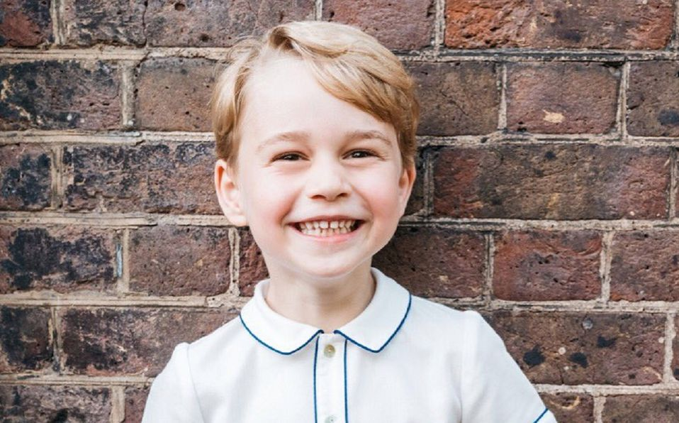 Principe Jorge cumple 7 años con nuevos retratos (Foto: Instagram)