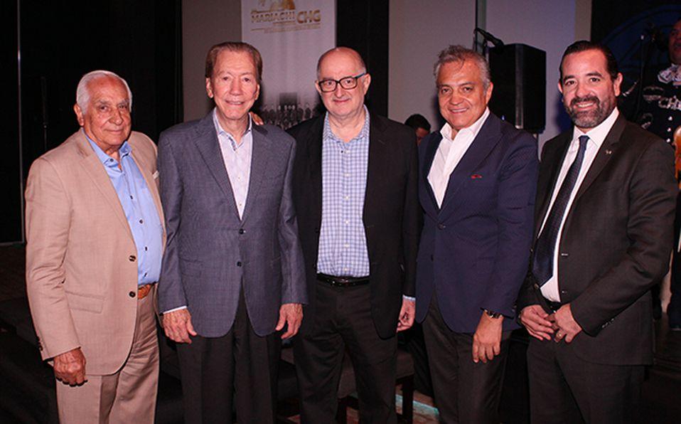Salvador Quirarte, Leonardo Plasencia, Roy Campos, Salvador Quirarte y Marcelo Garciarce